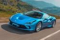 السيارات ذات اللون الأزرق