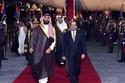 الرئيس المصري يستقبل ولي العهد السعودي 2