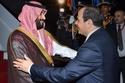 الرئيس المصري يستقبل ولي العهد السعودي 1