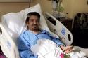 عبدالله السدحان في المستشفى