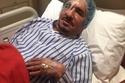 عبدالله السدحان في المستشفى عام 2015