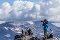 إطلالة على بركان موتنوفسكي في كامتشاتكا الروسية
