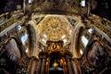 منظر من داخل كنيسة كابيلا ديل روساريو في بويبلا المكسيكية