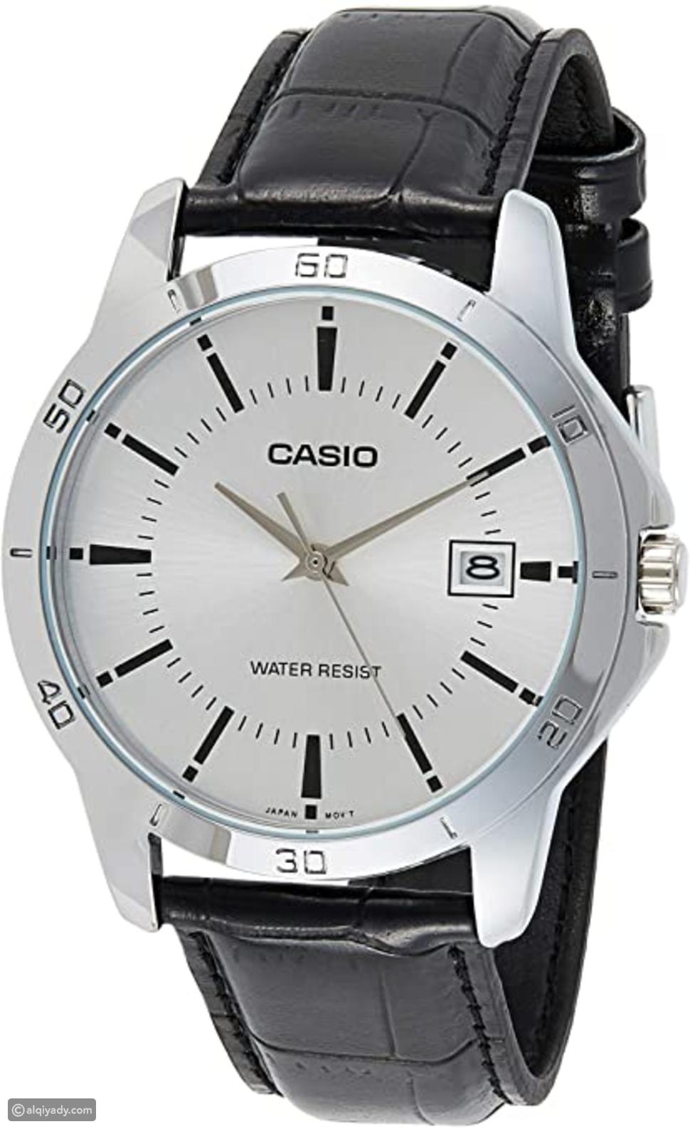 """ساعة للرجال من """"كاسيو"""" انالوج"""