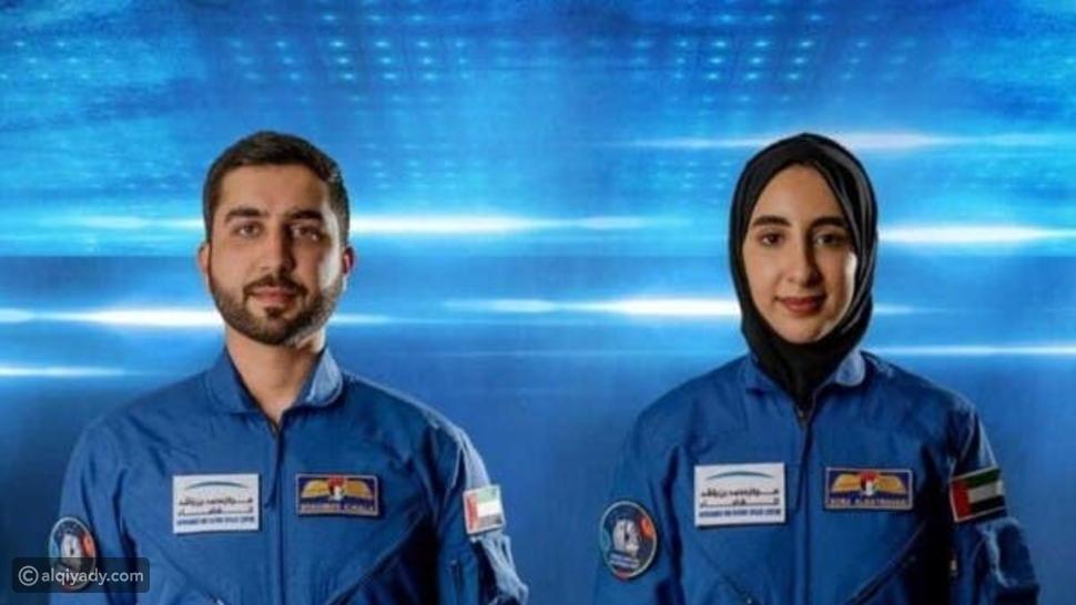 محمد بن راشد يعلن أول رائدة فضاء عربية