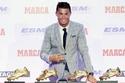 رونالدو يُصبح رسمياً أول لاعب يُحقق لقب الهداف في ثلاثة دوريات كبرى