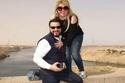 الفنانة مها أحمد وزوجها الفنان مجدي كامل