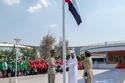 الشيخ محمد بن راشد يرفع علم الإمارات في دار الاتحاد 2