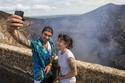 بركان ماسايا، على بعد 30 كم من مانغوا، نيكاراغوا