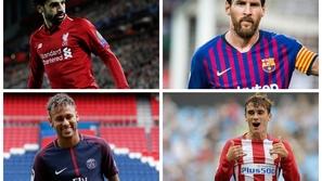 صور: أغلى 10 لاعبين في العالم.. صدمة بسبب ترتيب رونالدو