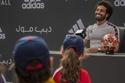 مؤتمر محمد صلاح مع الأطفال في دبي 1