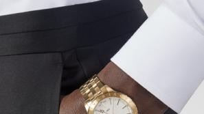 لإطلالة رسمية أنيقة: مجموعة ساعات كلاسيكية فخمة من Versace