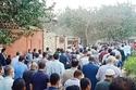 شاهد جنازة مهيبة لشهبندر التجار محمود العربي