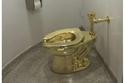 مرحاض الذهب بحمام بلينهايم البريطاني