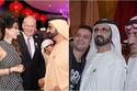 صور عكست العلاقة الطيبة بين حاكم دبي ومشاهير الفنوالإعلام