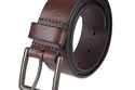 DOCKERS MEN'S CASUAL LEATHER BELT