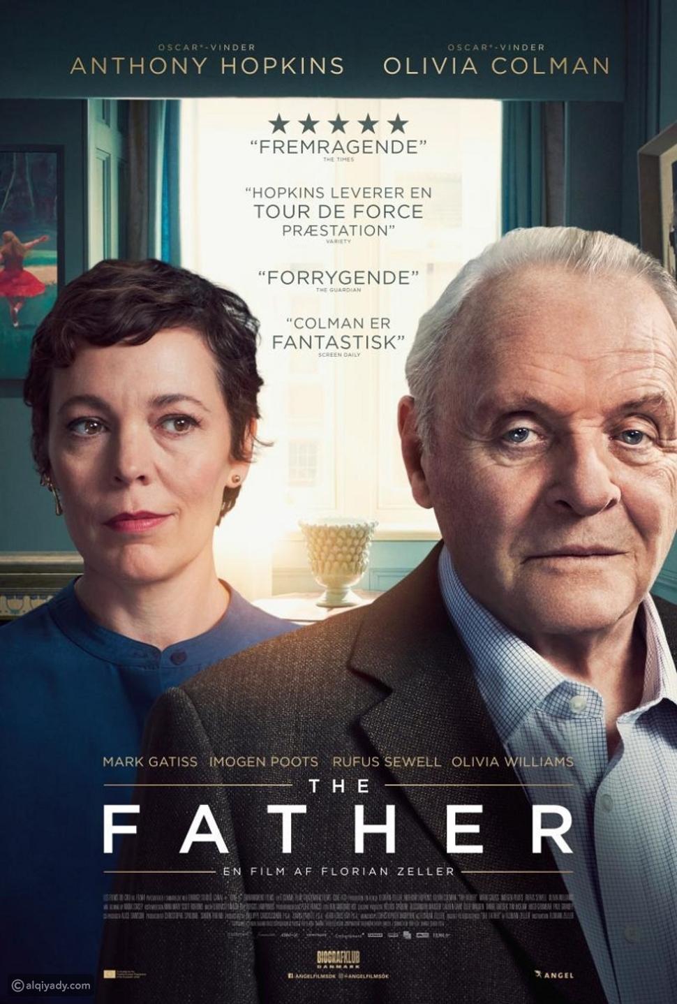 The Father: عندما تتلاعب الذاكرة بأب يعيش أيامه الأخيرة