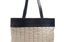 Hecho Barragan Medium Linen and Leather Tote