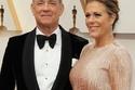 النجم توم هانكس وزوجته ريتا ويلسون
