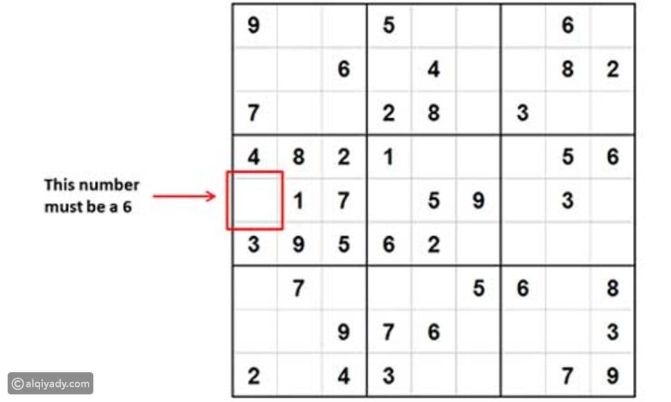 سودوكو: طريقة حل ألغاز لعبة Sudoku بسهولة
