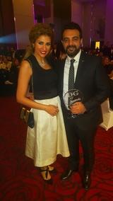 صور عائلة النجم عمرو محمود يس زوجته مذيعة معروفة القيادي