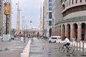 صور: لقطات مُذهلة للحظات هطول الأمطار على المدينة المنورة