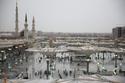 شهدت مناطق عدة بالمملكة العربية السعودية، أمطارًا غزيرة صباح اليوم