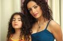هند الحناوي وابنتها لينا