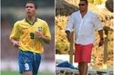 شاهد الزيادة الكبيرة في وزن نجم الكرة البرازيلية السابق
