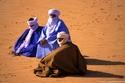 ليبيا: اللثام الأزرق يُبعد شر أرواح الموتى