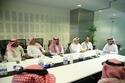 اجتماع تركي آل الشيخ مع المطربين الشعبيين