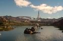 تدور أحداث اللعبة في مكان يدعى إيوس، حيث يجتمع الخيال والخيال العلمي