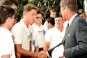 بيل كلينتون رئيس الولايات المتحدة الأسبق بمرحلة شبابه