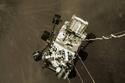 لحظة هبوط الروبوت الجوال برسفيرنس على سطح الكوكب الأحمر