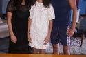 الفنان يوسف الشريف وابنته وزوجته