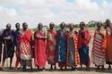 البصق على العروس من تقاليد الماساي