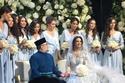 حفل زفاف ملك ماليزيا السابق وملكة جمال موسكو 1