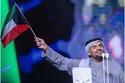 حسين الجسمي وعلم الإمارات
