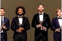 صور: تعرف على التشكيلة المثالية لأفضل 11 لاعبًا في العالم