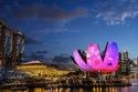 أي لايت مارينا باي في سنغافورة.