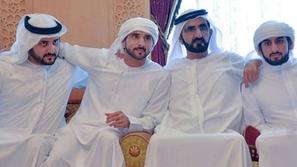 معلومات لا تعرفونها عن أبناء حاكم دبي الذين عقدوا قرانهم في يوم واحد