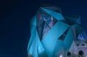 جزيرة ياس غيرت إضاءة معالمها السياحية بما يلائم احتفالات الكويت
