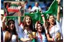 مشجعات إيرانية