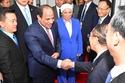 الرئيس المصري عبدالفتاح السيسي وزوجته انتصار عامر