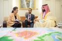 تفاصيل لقاء الأمير محمد بن سلمان مع ناجية من قنبلة هيروشيما