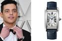 رامي مالك ارتدى ساعة Cartier Tank Américaine،