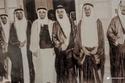 الأمير بندر بن عبدالعزيز مع أخوانه سنة 1367 هـ