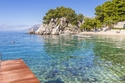 ساحل بودريس بريلا في كرواتيا