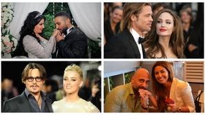 مشاهير أثاروا الكثير من الجدل بزيجاتهم ليعلنوا بعدها الطلاق بأغرب طرق