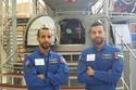 صور: رائدا الفضاء الإماراتيان يبدآن تدريباتهما قبل السفر إلى الفضاء